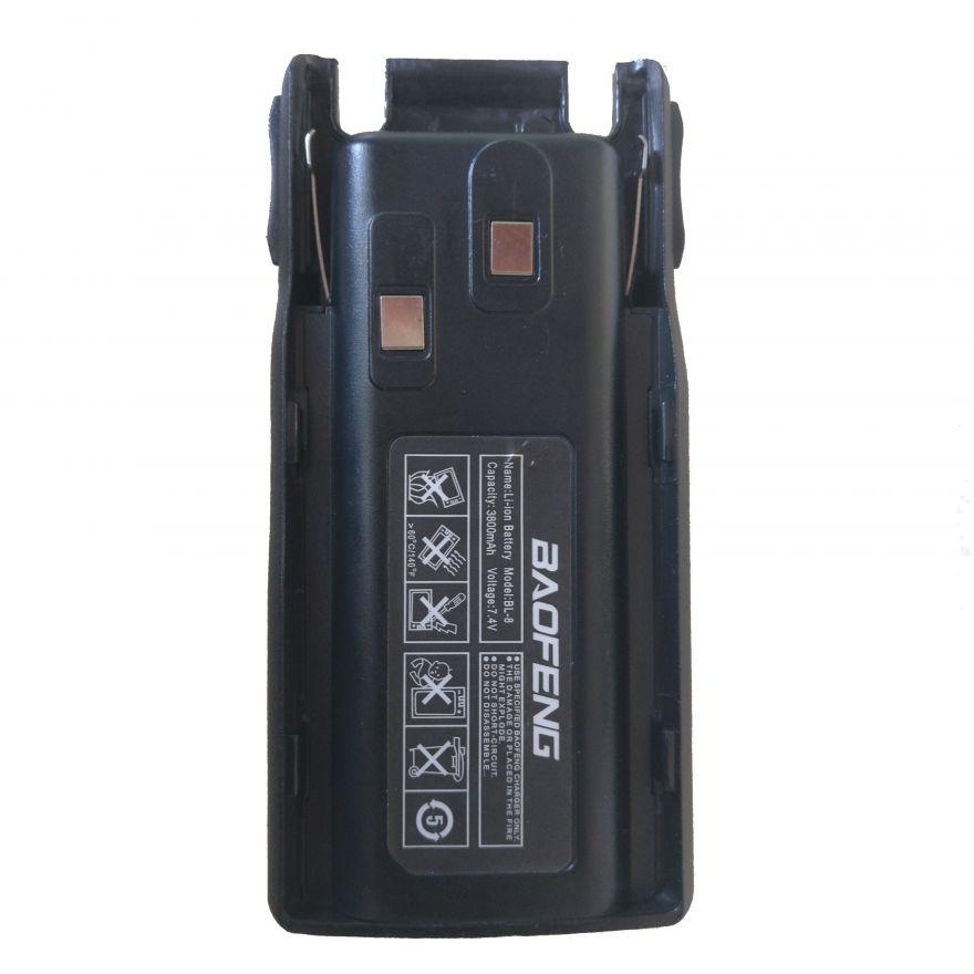 Усиленный аккумулятор для рации Baofeng UV-82 компакт (3800 мАч)