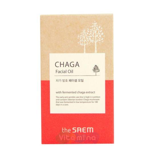 The Saem Chaga Facial Oil Антивозрастное масло для лица