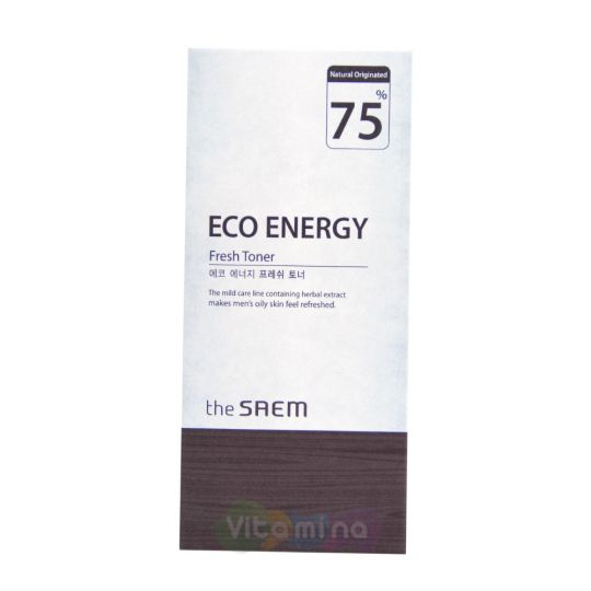 The Saem Eco Energy Тонер мужской освежающий, 150 мл
