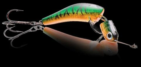 Джигвоблер Wake Jigwobbler 50, 5 см, 8 гр, #Green Tiger