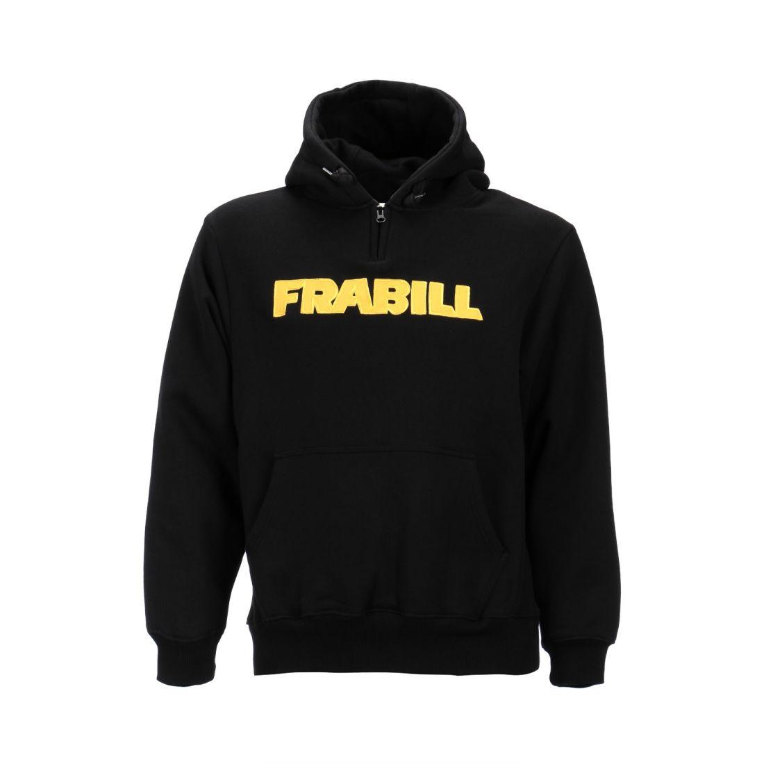 Кенгурушка Frabill Heavyweight Cotton Hooded Sweatshirt черная размер M