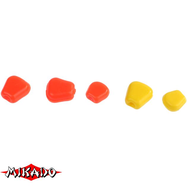 Кукуруза силиконовая Mikado TROUT CAMPIONE (чеснок) крупная / 010, упак
