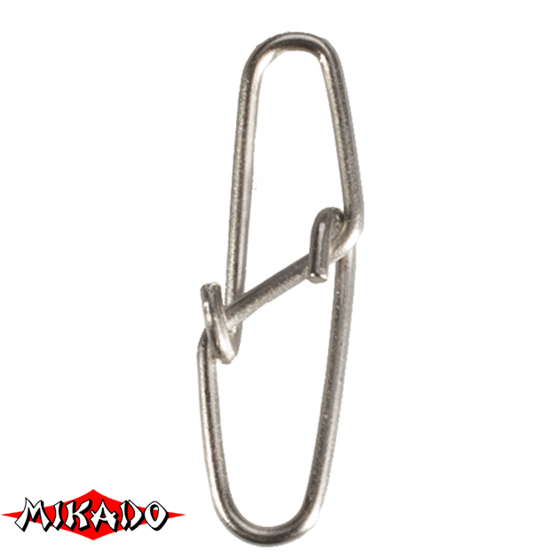 Застежка Mikado Diamond № 0.  тест 10 кг. (12 шт.) фас.=10 уп., упак