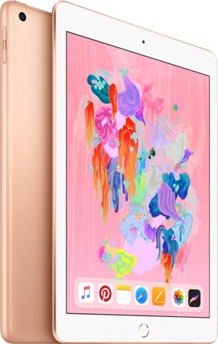 Apple iPad (2018) 128Gb Wi-Fi + Cellular Gold