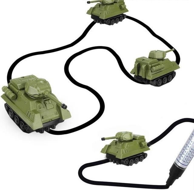 Индуктивный танк самодвижущийся танк