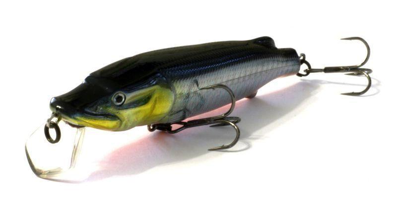 Воблер ASAKURA PIKE 11 SR-F 760-цвет, 10,5 см., 18,8 гр, заглубление м.,