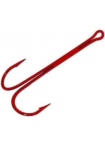 Двойники Cannelle 2020 R № 2 уп.100 шт. (красный, удлиненное цевье,спаянный)