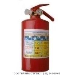 Огнетушитель порошковый ОП-1  автомобильный
