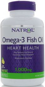 Natrol Omega-3 Fish Oil 150 капсул