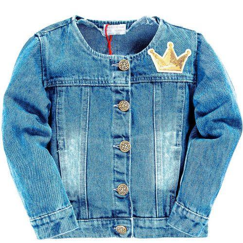 Куртка джинсовая PARIS, для девочек 2-5 лет BN965