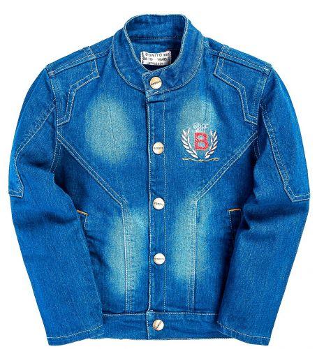 Куртка джинсовая Bonito Jeans, для мальчиков 5-8 лет BN968