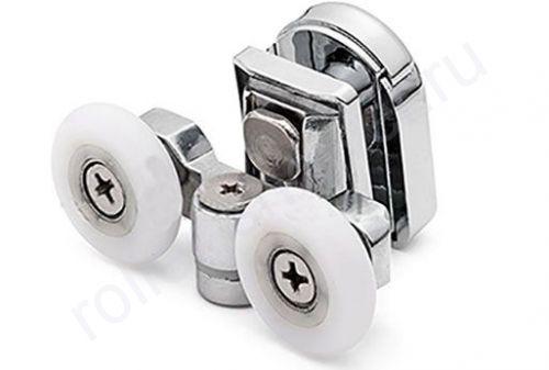 Ролик VH070 Cezares - верхние.(комплект 4шт) Диаметр колеса (от18,6 до 28мм)