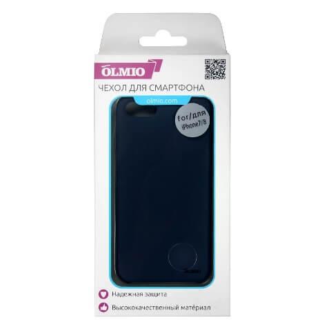 Чехол Olmio Silicone Velvet для iPhone 7, 8