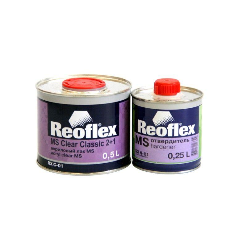 Reoflex Лак Акриловый 2K MS 2+1 (комплект), 500мл. + 250мл.