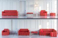 Модульный диван Quanto 3-х секционный - вид 12