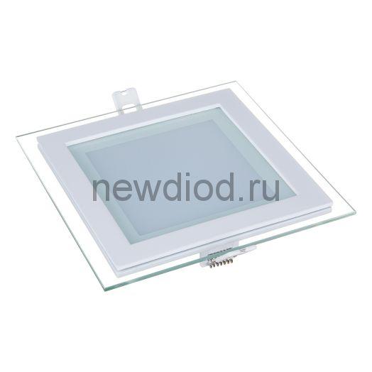 Светильник встраиваемый OREOL Glass Slp 6W-450Lm 75/100mm 3000K