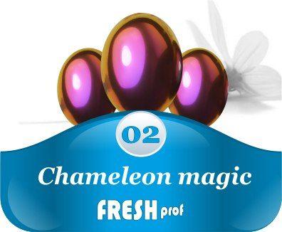 Мелкодисперсный пигмент Сhameleon magic 2 красный