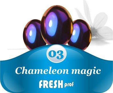 Мелкодисперсный пигмент Сhameleon magic 3 фиолетовый
