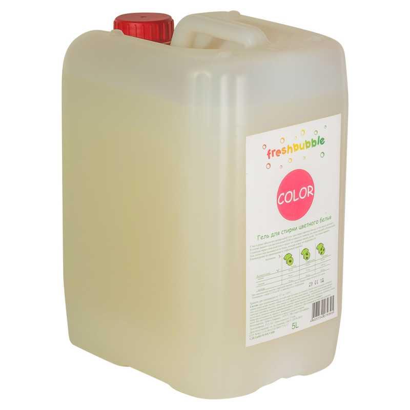 Гель для стирки цветного белья Freshbubble (Фрешбабл) 5 л