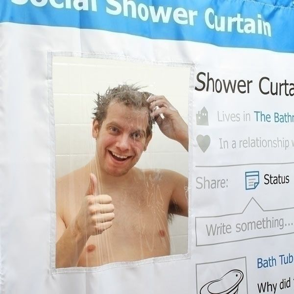 Занавеска для душа FaceShower