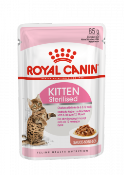 Киттен Стерилайзд в соусе (Kitten sterilised gravy) 85г.