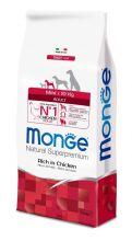 Monge Dog Mini корм для взрослых собак мелких пород 7,5 кг