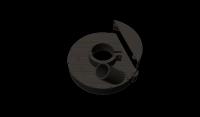 пылеотводящий кожух для ушм 180 мм