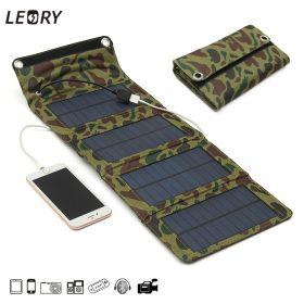 Солнечное зарядное устройство LEORY - 4 панели