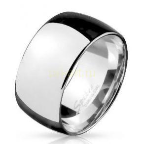 Полированное стальное кольцо Spikes шириной 10 мм (подходит для гравировки) (арт. 280149)