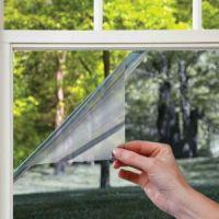 Пленка солнцезащитная зеркальная для окон (2)