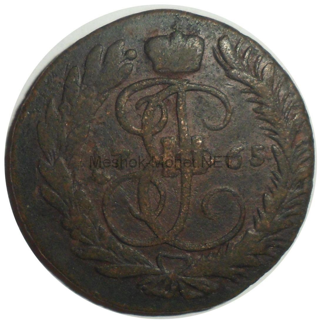 2 копейки 1765 года ММ # 2