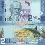 Коста-Рика 2000 колон 2009 UNC