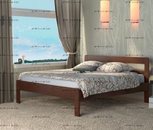 Кровать Кредо 1 Массив DreamLine (с 1 спинкой)
