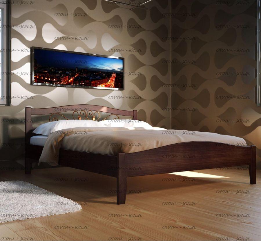 Кровать Верона 1 Массив DreamLine