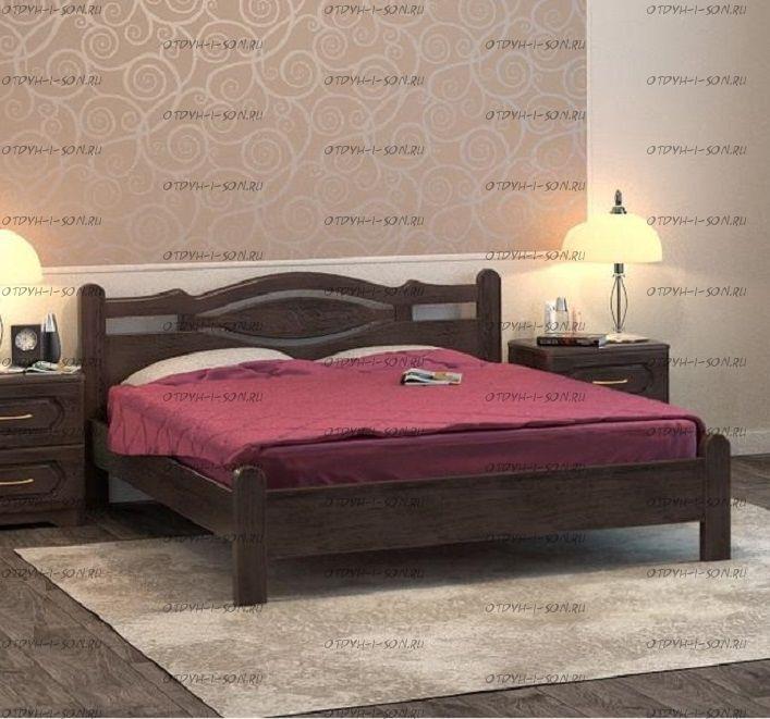 Кровать Орден 1 Массив DreamLine (с 1 спинкой)