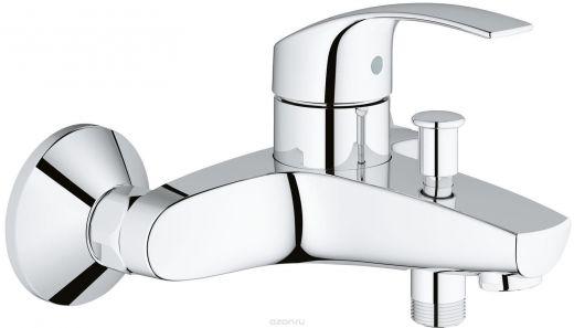 Cмеситель однорычажный для ванны GROHE Eurosmart 33 300 001