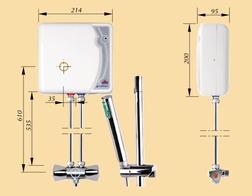 Электрический проточный водонагреватель KOSPEL EPJ.P-4.4 PRIMUS