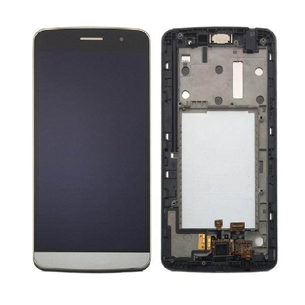 Дисплей в сборе с сенсорным стеклом и рамкой для LG Ray (X190)