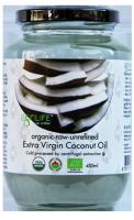 Кокосовое масло холодного отжима 450 мл Agrilife БИО нерафинированное