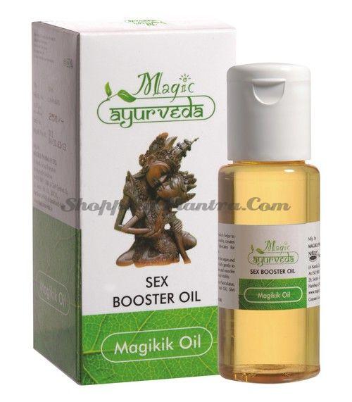 Масло для усиления мужской сексуальной активности Меджик Аюрведа / Magic Sex Booster Oil