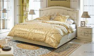 Кровать Адель с мягким изголовьем СМ-300.01.11(5)  с подъемным механизмом