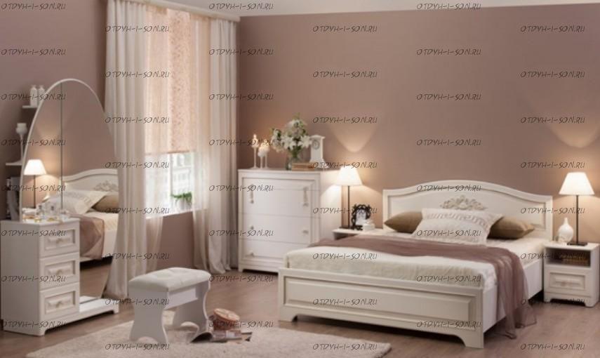 Модульная спальня Белла (композиция 1)