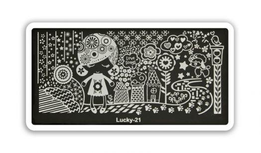 Стемпинг плитка Lucky высшее качество 21
