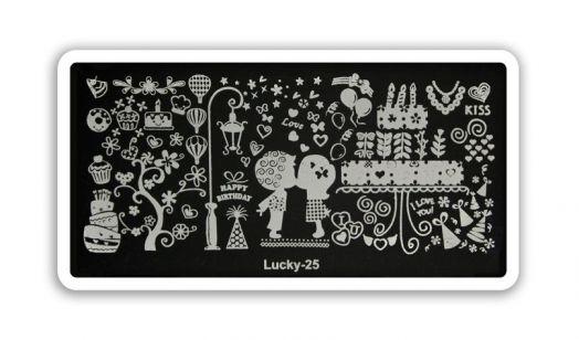 Стемпинг плитка Lucky высшее качество 25