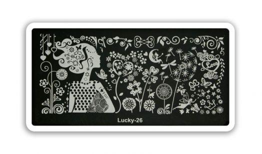 Стемпинг плитка Lucky высшее качество 26
