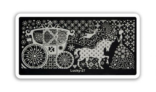 Стемпинг плитка Lucky высшее качество 27