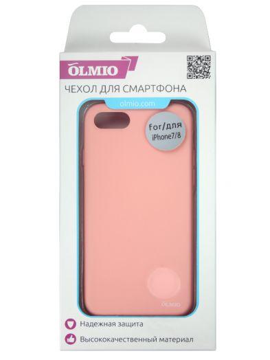 Чехол Velvet для iPhone 7/8 (нежно-розовый) Olmio