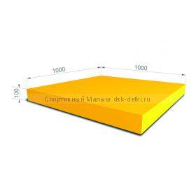 Мат гимнастический 100x100x10 см