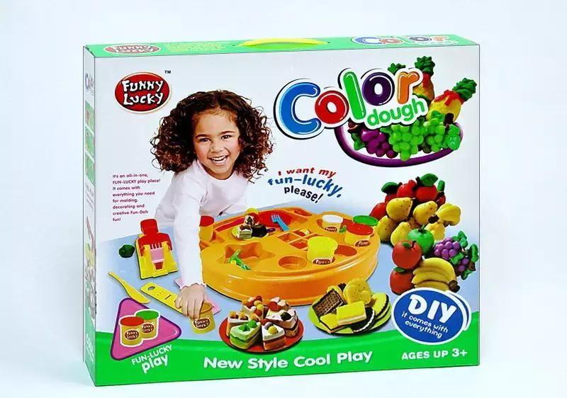 Набор для лепки Play Doh фабрика пирожных и печенья купить недорого