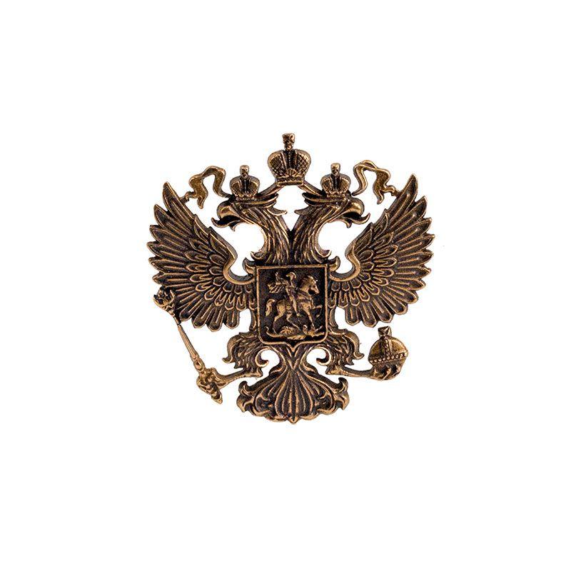 """Накладка """"Герб России. 50*50 мм"""""""